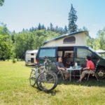 caravan and tent campsite