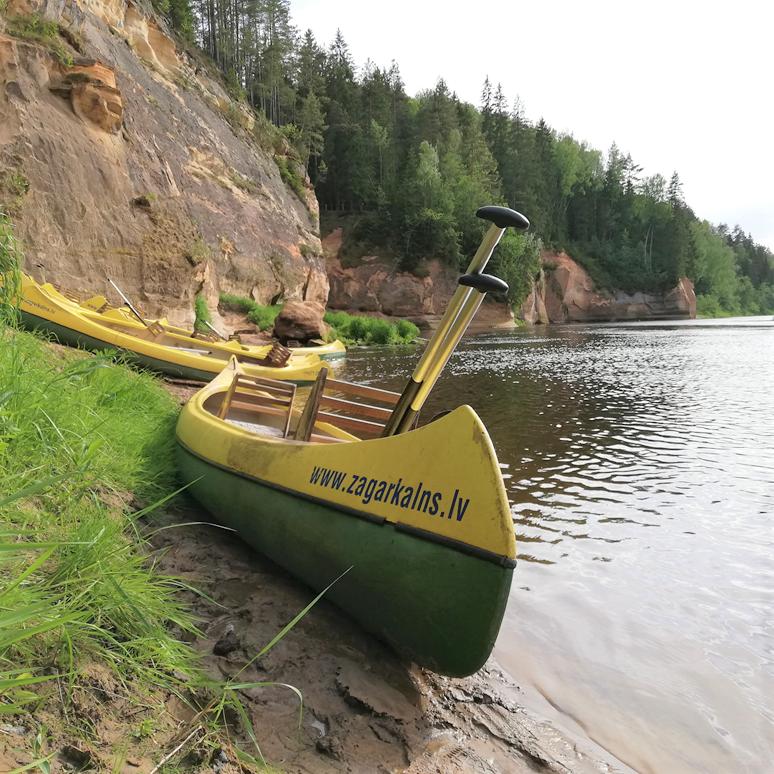 laivu noma kanoe salaca